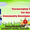 Encouraging youth for social and community development [17 Oct]