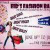 EID's Fashion Bazaar Exhibition [18 – 19 June]