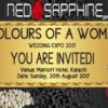 Colours of a Woman – Wedding Expo 2017 [20 Aug]