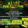 Azadi Fun Festival @ Savor [14 Aug]