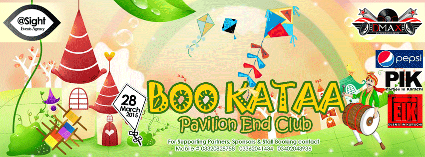 "Boo Kataa 4 ""Basant Carnival, Musical Night & Fashion Show"""