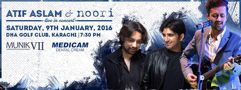 Atif Aslam and noori - Live in Concert