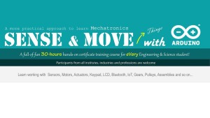 FEB Mechatronics: Sense and Move Things with Arduino (Training)