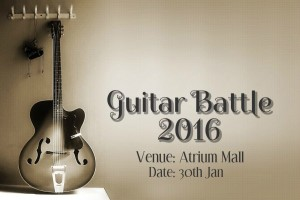 Guitar Battle 2016