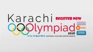 Karachi Olympiad 2016