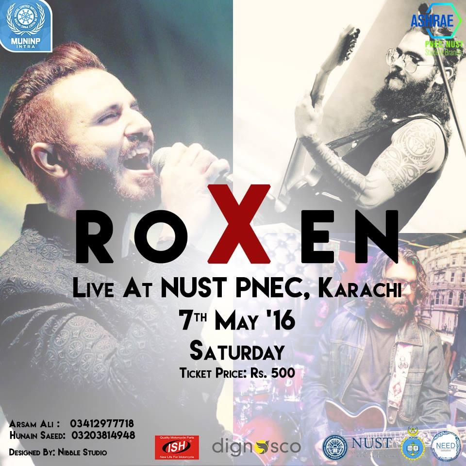 ROXEN at NUST – PNEC, Karachi  [07 May] | Events in Karachi