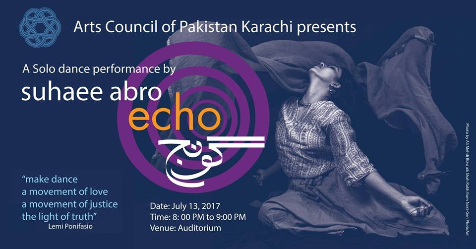 Goonj - Echo (Dance Performance) Karachi