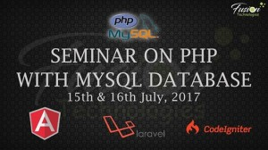 Seminar On PHP With MySQL